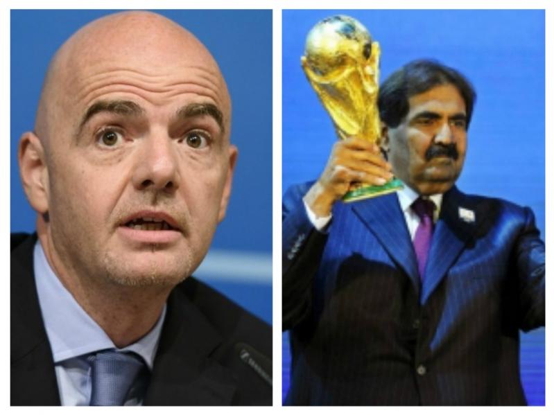 تصريح إنفانتينو وحلم الفيفا يكشف أكذوبة ملف قطر لاستضافة المونديال
