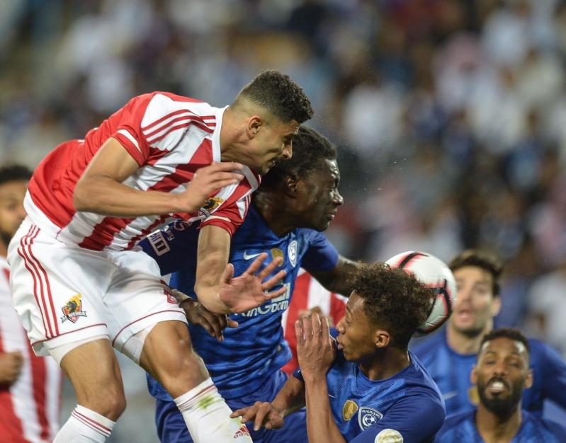 جماهير النصر تُشيد بأداء لاعب الوحدة ضد الهلال