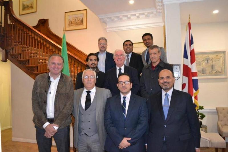 غرفة التجارة العربية البريطانية تناقش تطوير الرياضة والترفيه