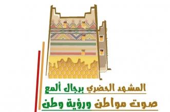 تراث وقط عسيري وعسل.. فنانة تشكيلية تصمم شعارًا للمشهد الحضري برجال ألمع - المواطن