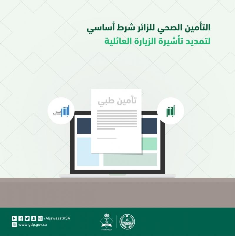 الجوازات هذا الأمر شرط أساسي لتمديد تأشيرة الزيارة العائلية صحيفة المواطن الإلكترونية