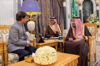 الملك سلمان يستقبل سفير جمهورية الهند لدى المملكة - المواطن