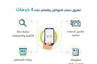 حساب المواطن يطلق أول تطبيق لأجهزة آي أو أس وأندرويد.. هنا روابط التحميل - المواطن