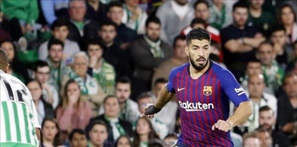 ريال بتيس ضد برشلونة
