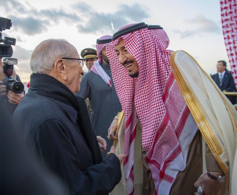 السبسي: المملكة لها وزنها في المنظومة العربية.. وعلاقتي بالملك سلمان منذ أن كان أميرا للرياض
