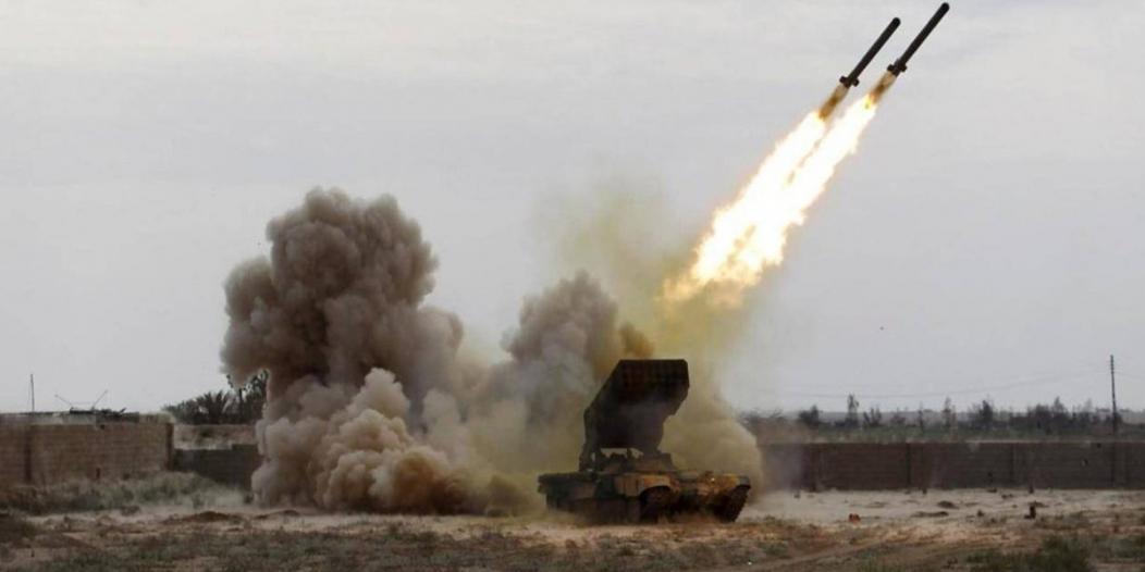 التحالف: سقوط صاروخ في صعدة أطلقته ميليشيا الحوثي من عمران