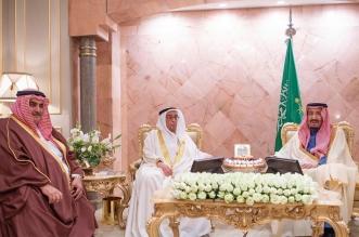 خادم الحرمين يستعرض العلاقات الثنائية مع نائب رئيس وزراء البحرين - المواطن