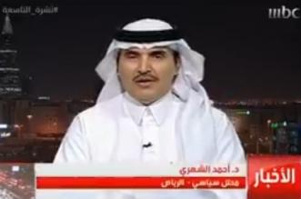 فيديو.. المحلل السياسي أحمد الشهري: مبلغ رشاوى قطر للفيفا يتجاوز المليار دولار - المواطن