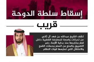 خليفة بن مبارك: إسقاط تنظيم الحمدين بات وشيكًا - المواطن