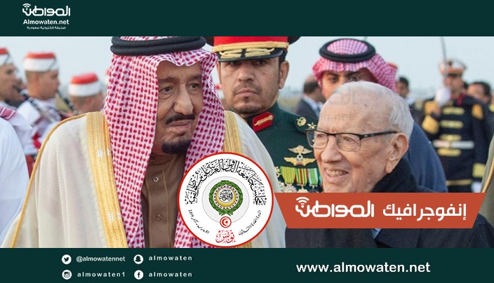 """إنفوجرافيك """"المواطن"""".. السبسي: علاقتنا بالسعودية في أعلى مستوياتها"""