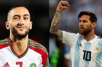 المغرب ضد الأرجنتين