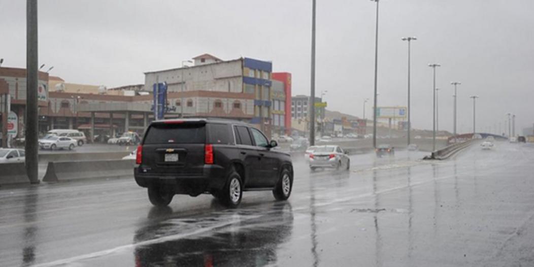 تنبيه من هطول أمطار رعدية على الطائف والكامل وميسان