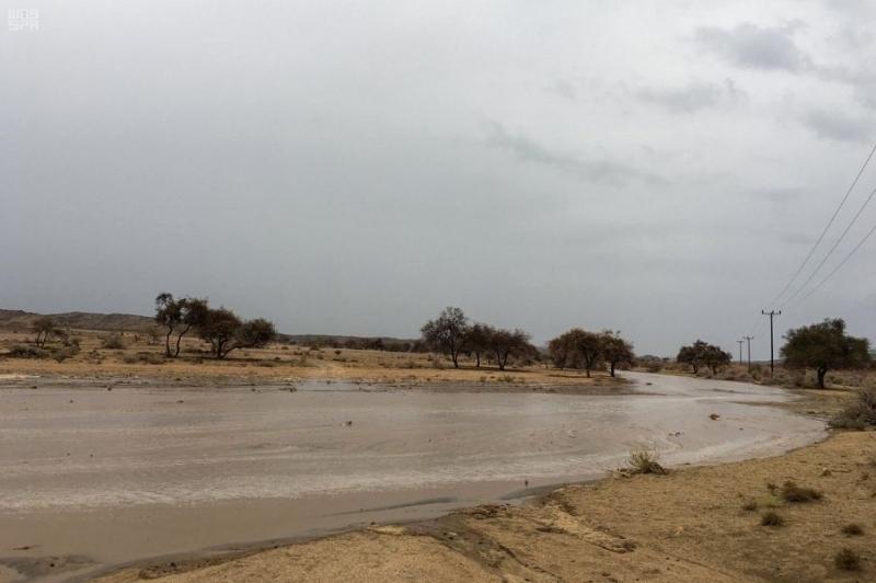 أمطار عسير تروي المزارع وترسم لوحات جمالية 4