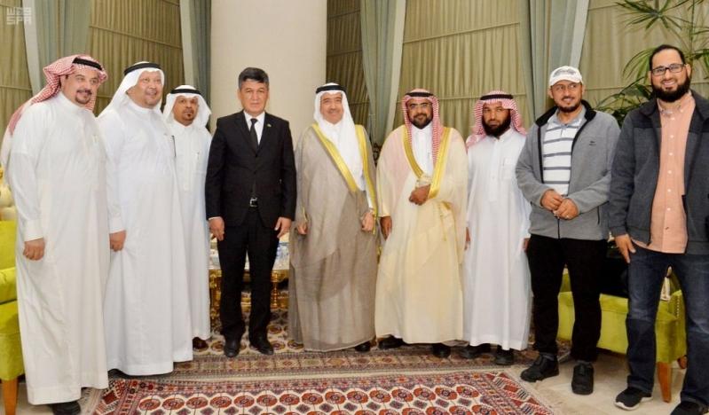 وزارة الإعلام تُبرز المكانة والمشهد الثقافي السعودي في فعالياتها بتركمانستان
