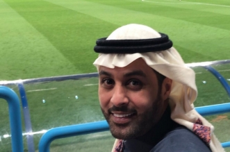 القحطاني يدعم الزعيم في مباراة الهلال والاستقلال - المواطن