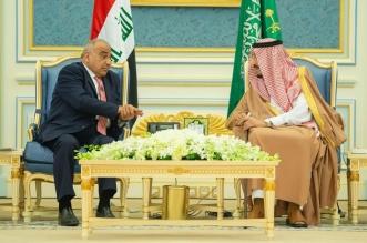 الملك سلمان يستقبل رئيس وزراء العراق في قصر اليمامة - المواطن