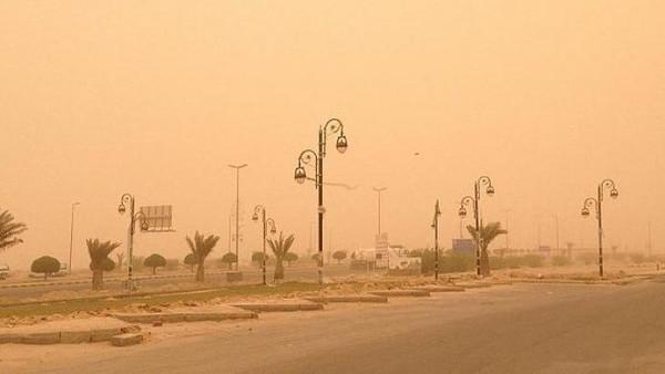 غبار على الشرقية ونجران اليوم
