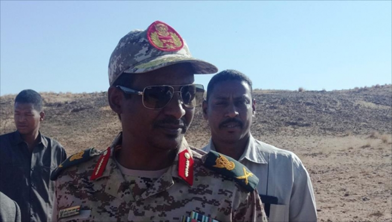 حمديتي يؤدي القسم نائبًا لرئيس المجلس العسكريالسوداني