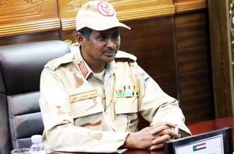 محمد حمدان دقلو نائب رئيس المجلس العسكري الانتقالي السوداني