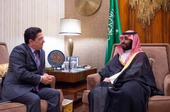 الأمير محمد بن سلمان يبحث تعزيز العلاقات الثنائية مع وزير الخارجية المغربي - المواطن