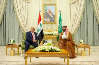 ولي العهد يلتقي رئيس وزراء العراق ويعقدان جلسة مباحثات رسمية - المواطن