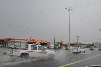 فيديو وصور.. أمطار محايل تشل الحركة المرورية والمدني يحذر - المواطن