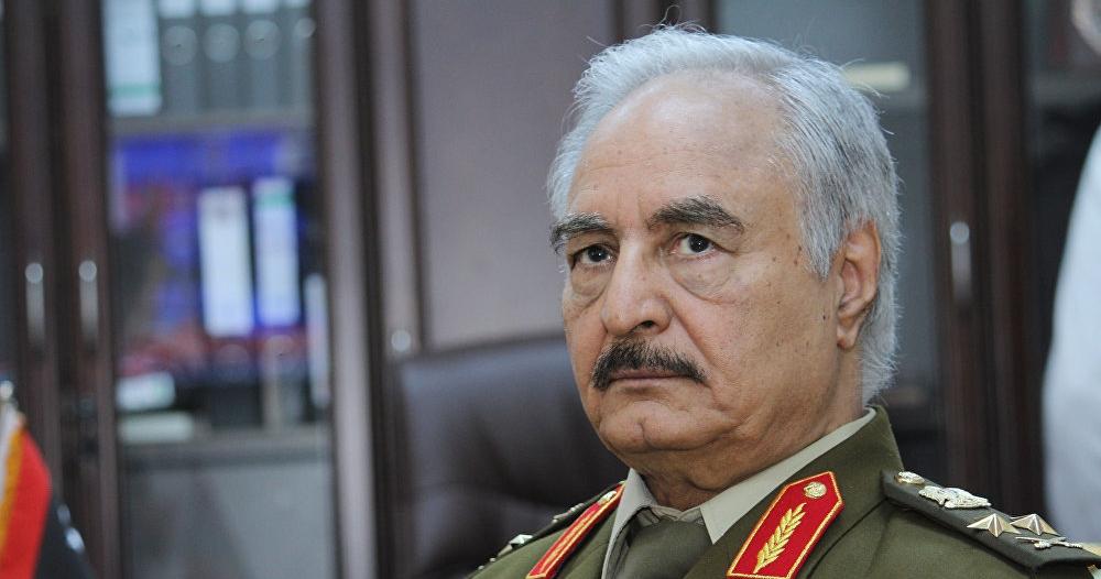 حفتر يعلن إسقاط اتفاق الصخيرات وتولي قيادة ليبيا