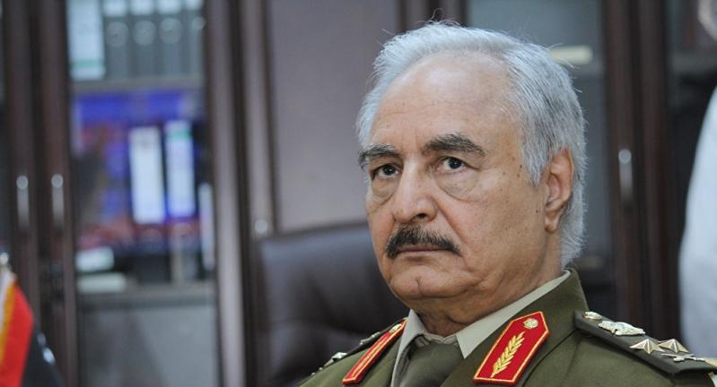 حفتر يطالب بلوبي عربي يتصدى لأطماع تركيا