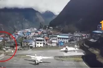 فيديو.. لحظة اصطدام طائرة ركاب بمروحية - المواطن