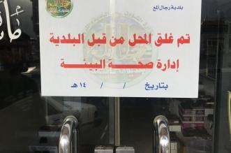 صور.. مصادرة 85 كجم من المواد الغذائية غير الصالحة وإغلاق 7 محلات برجال ألمع - المواطن