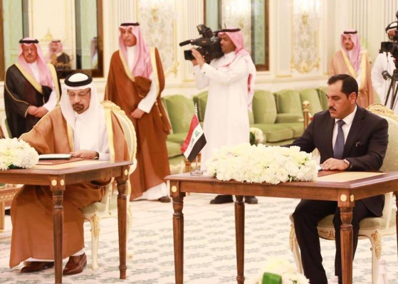 توقيع 13 اتفاقية بين المملكة والعراق بحضور الملك سلمان وعادل عبد المهدي