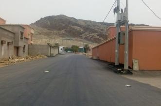 أمانة عسير تستكمل سفلتة الطرق والإنارة في مربة - المواطن