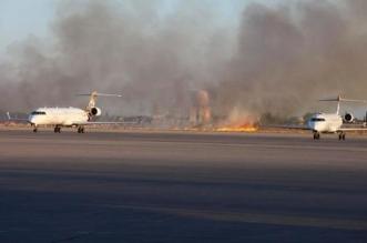 ضربة جوية ثانية تستهدف الميليشيات في مطار طرابلس - المواطن