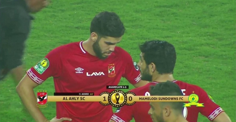 Al ahly vs mamelodi sundowns .. الأحمر يفوز بهدف ويودع دوري الأبطال