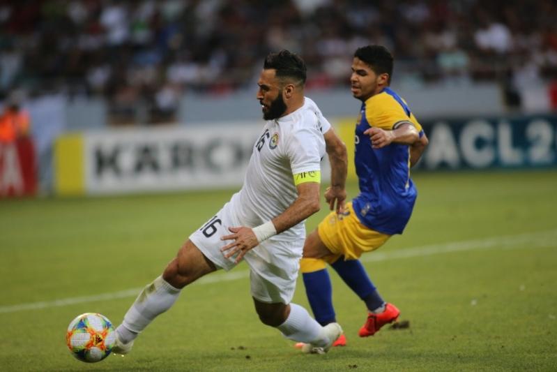 للمباراة الثانية على التوالي .. الشهري الأفضل في مباراة الزوراء ضد النصر