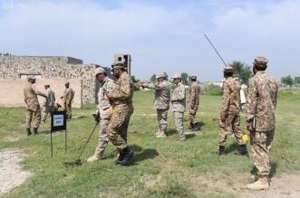 صور.. تمرين الكاسح 2 يواصل فعالياته في باكستان بمشاركة القوات البرية السعودية - المواطن