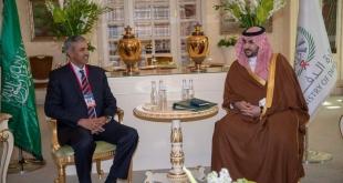 خالد بن سلمان يبحث التعاون العسكري مع النائب الأول لوزير الدفاع الباكستاني