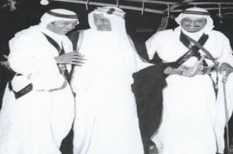 صورة نادرة تجمع الملك فيصل مع الملك سلمان و الحسن الثاني - المواطن