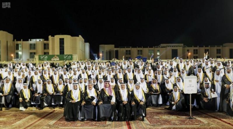 صور.. نائب أمير الشرقية يزف خريجي الدفعة الـ 40 من جامعة الإمام عبدالرحمن