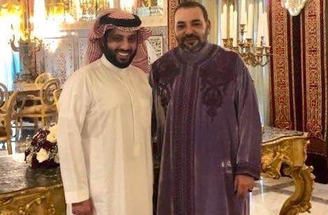 تركي آل الشيخ يعلن إطلاق اسم الملك محمد السادس على نسخة البطولة العربية الثانية