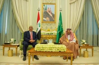 الملك سلمان يستعرض العلاقات الثنائية والقضايا الإقليمية مع رئيس وزراء العراق - المواطن