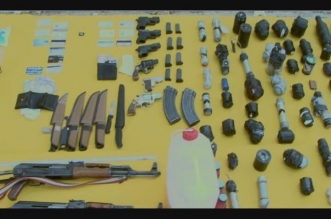 شاهد.. فيديو من وكر الخلية الإرهابية في الزلفي .. ورسالة أحدهم على السكين - المواطن