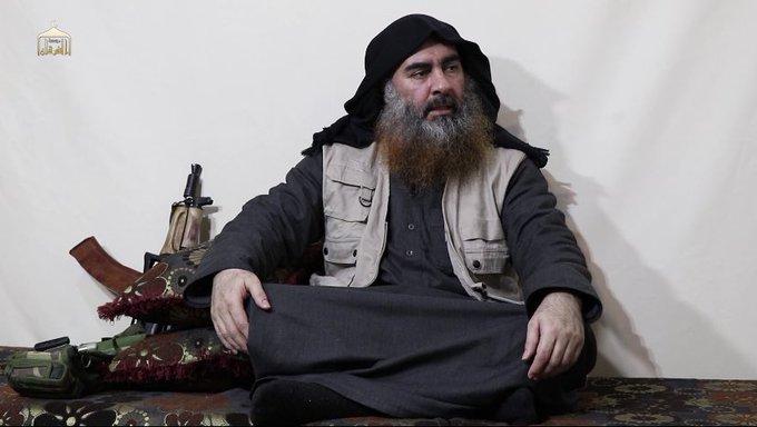 أشلاء مبعثرة وسيارة متفحمة.. أول فيديو لمقتل البغدادي