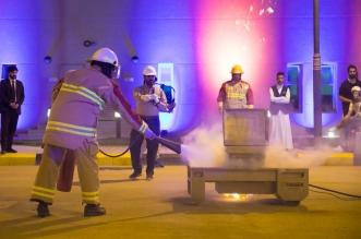 السعودية للكهرباء تقدم عروضا توعوية لاطفاء الحرائق لزوار مهرجان نور - المواطن