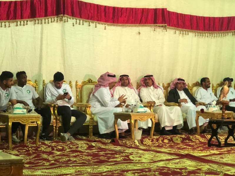 نادي ضمك يحتفل بمنتخبنا للشباب لكرة القدم في أبها - المواطن
