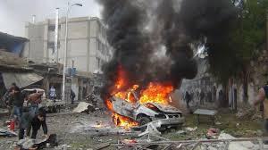 مقتل 17 في انفجار بمدينة جسر الشغور السورية