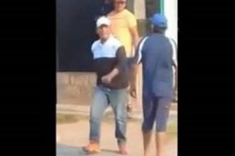 فيديو.. عجوز ينهي عراكًا مع آخر بالضربة القاضية - المواطن