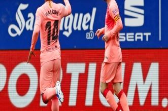 إيبار ضد برشلونة .. الكتالوني يختتم الدوري الإسباني بتعادل إيجابي - المواطن