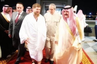 الرئيس الشيشاني يصل جدة - المواطن