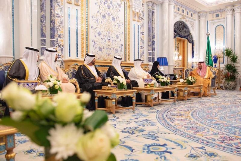 الملك سلمان يستعرض العلاقات مع رئيسة المجلس الوطني الاتحادي الإماراتي - المواطن
